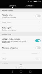Huawei P8 - Mensajería - Configurar el equipo para mensajes de texto - Paso 5