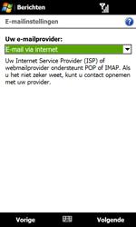 HTC T5353 Touch Diamond II - E-mail - Handmatig instellen - Stap 9