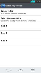 LG G2 - Red - Seleccionar una red - Paso 9