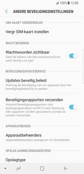 Samsung Galaxy S8 (G950) - Beveiliging en ouderlijk toezicht - Hoe wijzig ik mijn SIM PIN-code - Stap 6