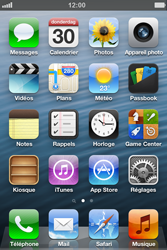 Apple iPhone 4 S - iOS 6 - E-mail - envoyer un e-mail - Étape 1
