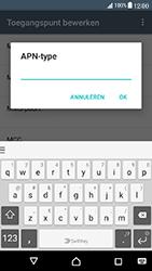 Sony Xperia X Compact (F5321) - Internet - Handmatig instellen - Stap 14