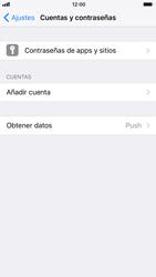 Apple iPhone 6s - iOS 11 - E-mail - Configurar correo electrónico - Paso 4