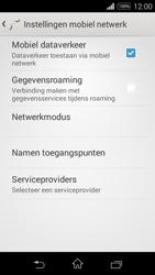 Sony Xperia E3 - Internet - aan- of uitzetten - Stap 6