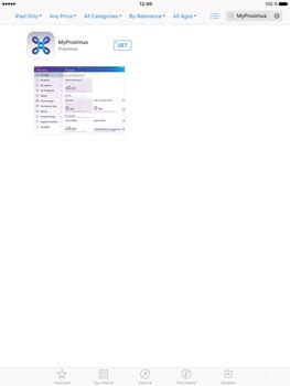 Apple iPad Pro (9.7) - Applications - MyProximus - Step 6