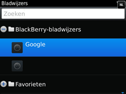 BlackBerry 9790 Bold - Internet - Hoe te internetten - Stap 7