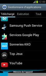 Samsung Galaxy Trend - Applications - Supprimer une application - Étape 9
