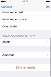 Apple iPhone 4S iOS 7 - E-mail - Configurar correo electrónico - Paso 20
