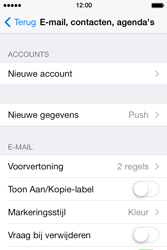 Apple iPhone 4S iOS 7 - E-mail - handmatig instellen - Stap 4