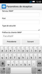 Alcatel OT-5036X Pop C5 - E-mail - Configurer l