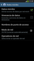 Samsung Galaxy S4 Mini - Mensajería - Configurar el equipo para mensajes multimedia - Paso 6