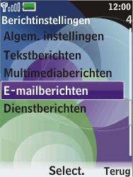 Nokia 7610 supernova - E-mail - handmatig instellen - Stap 5