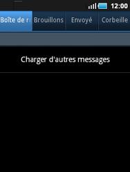 Samsung S5570 Galaxy Mini - E-mail - envoyer un e-mail - Étape 3