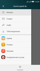 Huawei Y635 Dual SIM - E-mail - Envoi d