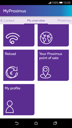 HTC Desire 626 - Applications - MyProximus - Step 18