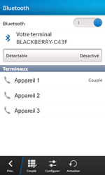 BlackBerry Z10 - Bluetooth - connexion Bluetooth - Étape 11