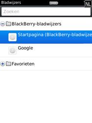 BlackBerry 9800 Torch - Internet - Hoe te internetten - Stap 8