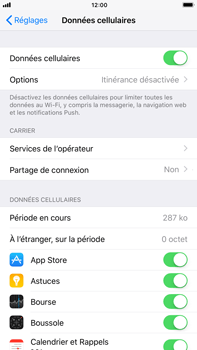 Apple iPhone 6 Plus - iOS 11 - Réseau - Activer 4G/LTE - Étape 4