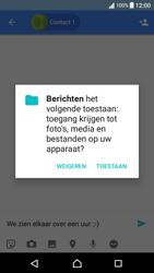 Sony F3111 Xperia XA - Android Nougat - MMS - hoe te versturen - Stap 10