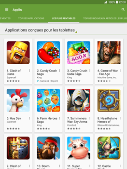Samsung Galaxy Tab A - Applications - Télécharger une application - Étape 9