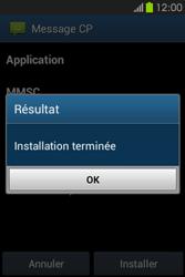 Samsung S6810P Galaxy Fame - MMS - Configuration automatique - Étape 7