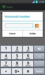 LG E460 Optimus L5 II - Voicemail - Manual configuration - Step 8