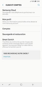Samsung Galaxy Note 8 - Aller plus loin - Gérer vos données depuis le portable - Étape 8