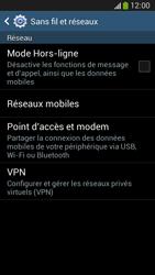 Samsung C105 Galaxy S IV Zoom LTE - Internet - Configuration manuelle - Étape 5