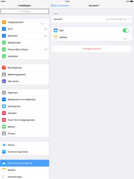 Apple iPad Pro 12.9 (1st gen) - iOS 9 - E-mail - Handmatig instellen - Stap 26