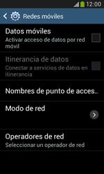 Samsung S7580 Galaxy Trend Plus - Internet - Activar o desactivar la conexión de datos - Paso 8