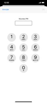 Apple iPhone XR - iOS 13 - Sécurité - modifier SIM PIN - Étape 8