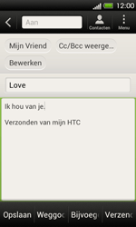 HTC T320e One V - E-mail - Hoe te versturen - Stap 9