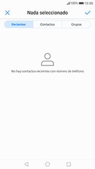 Huawei P10 Plus - Mensajería - Escribir y enviar un mensaje multimedia - Paso 5