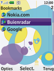 Nokia 7310 supernova - Internet - Hoe te internetten - Stap 11