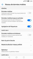 Huawei P10 Lite - Internet et connexion - Désactiver la connexion Internet - Étape 6