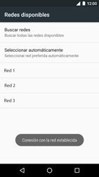 Motorola Moto G 3rd Gen. (2015) (XT1541) - Red - Seleccionar una red - Paso 10