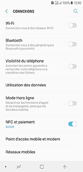 Samsung Galaxy J6 - Internet et connexion - Utiliser le mode modem par USB - Étape 5