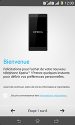 Sony Xpéria E1 Dual - Premiers pas - Créer un compte - Étape 5