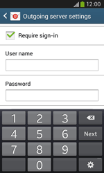 Samsung Galaxy Core Plus - Email - Manual configuration - Step 13