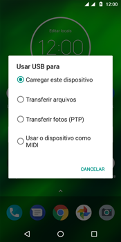 Motorola Moto G6 Plus - Conexão com pc - Transferir dados do telefone para o computador (Windows) - Etapa 9