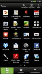 HTC S720e One X - E-mail - envoyer un e-mail - Étape 2