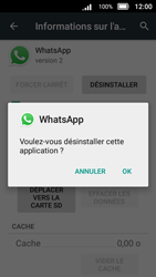 Doro 8031 - Applications - Supprimer une application - Étape 9