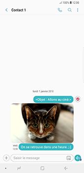Samsung Galaxy Note9 - MMS - envoi d'images - Étape 21