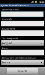 Samsung I8160 Galaxy Ace II - E-mail - Configurar correo electrónico - Paso 8