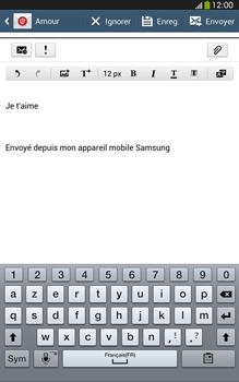 Samsung Galaxy Tab 3 8 4G - E-mails - Envoyer un e-mail - Étape 10