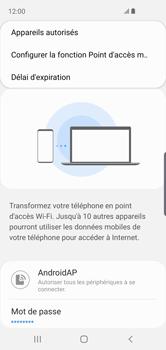 Samsung Galaxy S10e - Internet - comment configurer un point d'accès mobile - Étape 9