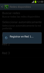 Samsung S7560 Galaxy Trend - Red - Seleccionar una red - Paso 10