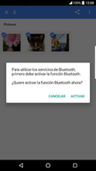 BlackBerry DTEK 50 - Bluetooth - Transferir archivos a través de Bluetooth - Paso 12