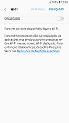 Samsung Galaxy A5 (2016) - Android Nougat - Wi-Fi - Ligar a uma rede Wi-Fi -  6