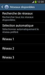 Samsung Galaxy Trend Plus S7580 - Réseau - Utilisation à l